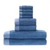 BedVoyage Rayon from Bamboo blend Resort Towel Bundle in Indigo