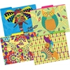 Barker Creek Bohemian Animals File Folders, Multi-Design Set of 12