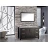 """Monaco 48"""" Single Sink Bathroom Vanity Set, Espresso"""