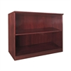 "Corsica Series 2-Shelf Bookcase - 36"" Width x 16"" Depth x 29.5"" Height - Veneer, Wood - Sierra Cherry"