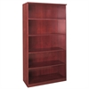 "Corsica Series 5-Shelf Bookcase - 36"" Width x 16"" Depth x 68"" Height - Veneer, Wood - Sierra Cherry"