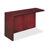 "Mayline Corsica Left Return Shell - 48"" Width x 20.5"" Depth x 29.5"" Height - Beveled Edge - Veneer, Wood - Cherry"