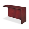 "Mayline Corsica Right Return Shell - 48"" Width x 20.5"" Depth x 29.5"" Height - Beveled Edge - Veneer, Wood - Cherry"