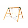 Gorilla Playsets Free Standing Swing Station - Amber Stained Cedar