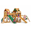 Gorilla Playsets Pioneer Peak Swing Set w/ Amber Posts