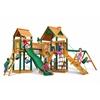 Gorilla Playsets Pioneer Peak Swing Set w/ Timber Shield
