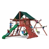 Sun Climber I Swing Set w/ Sunbrella Canvas Forest Green