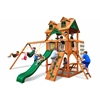 Gorilla Playsets Malibu Swing Set w/ Amber Posts