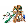 Gorilla Playsets Malibu Swing Set w/ Timber Shield