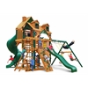 Gorilla Playsets Malibu Deluxe I Swing Set w/ Timber Shield