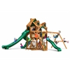 Gorilla Playsets Malibu Deluxe II Swing Set w/ Amber Posts
