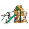 Chateau Treehouse Swing Set w/ Timber Shield