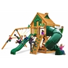 Mountaineer Treehouse Swing Set w/ Amber Posts