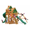 Gorilla Playsets Great Skye I Treehouse Swing Set w/ Amber Posts