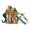 Gorilla Playsets Great Skye I Treehouse Swing Set w/ Timber Shield