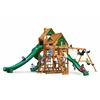 Gorilla Playsets Great Skye II Treehouse Swing Set w/ Amber Posts