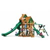 Gorilla Playsets Great Skye II Treehouse Swing Set w/ Timber Shield