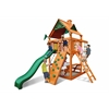 Gorilla Playsets Chateau Tower Swing Set w/ Amber Posts