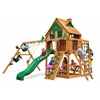 Navigator Treehouse Swing Set w/ Fort Add-On & Amber Posts
