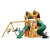 Gorilla Playsets Malibu Extreme Clubhouse Swing Set w/ Amber Posts