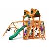 Gorilla Playsets Malibu Navigator Swing Set w/ Amber Posts