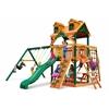 Gorilla Playsets Malibu Navigator Swing Set w/ Timber Shield