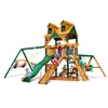 Malibu Frontier Swing Set w/ Timber Shield