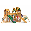 Gorilla Playsets Malibu Pioneer Peak Swing Set w/ Amber Posts