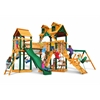 Gorilla Playsets Malibu Pioneer Peak Swing Set w/ Timber Shield
