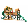 Gorilla Playsets Malibu Treasure Trove I Swing Set w/ Timber Shield