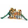 Gorilla Playsets Malibu Treasure Trove II Swing Set w/ Timber Shield