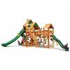 Gorilla Playsets Treasure Trove II Swing Set w/ Amber Posts