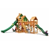 Treasure Trove II Treehouse Swing Set w/ Amber Posts