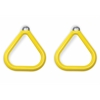 Gorilla Playsets Aluminum Trapeze Rings (Pair) - Yellow