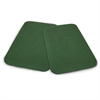 Protective Rubber Mats (pair) - Green