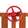 Steering Wheel - Red