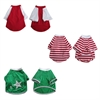 3 Pack Pretty Pet Apparel with Sleeves - XX-Small