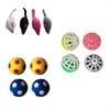 Iconic Pet - Plush Mice, Plastic Ball & Bouncing Ball - Set of 3