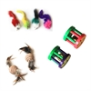 Iconic Pet - Fur Mice, Paper Rope Ball & Plastic Roller - Set of 3