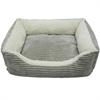 Luxury Lounge Pet Bed - Light Gray - Xlarge