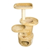 Iconic Pet - Dual Post Cat Tree Condo Tower - Beige