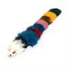 Multi-Colored Fur Weasel Toy