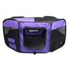 Iconic Pet - Portable Pet Soft Play Pen - Purple - Small
