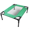 Iconic Pet - The Lazy Pet Cot - Dark Green - Medium