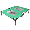 The Lazy Pet Cot - Dark Green - Large