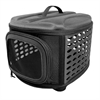 Deluxe Retreat Foldable Pet House - Black