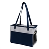 Iconic Pet - FurryGo Pet Shoulder Carrier/Bag - NavyBlue/LightGrey