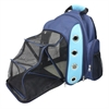 FurryGo Luxury Backpack Pet Carrier with Lounge - Navy Blue