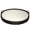 Rattan Round Pet Basket - Medium