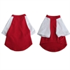 Iconic Pet - Pretty Pet Red and White Top - X Small